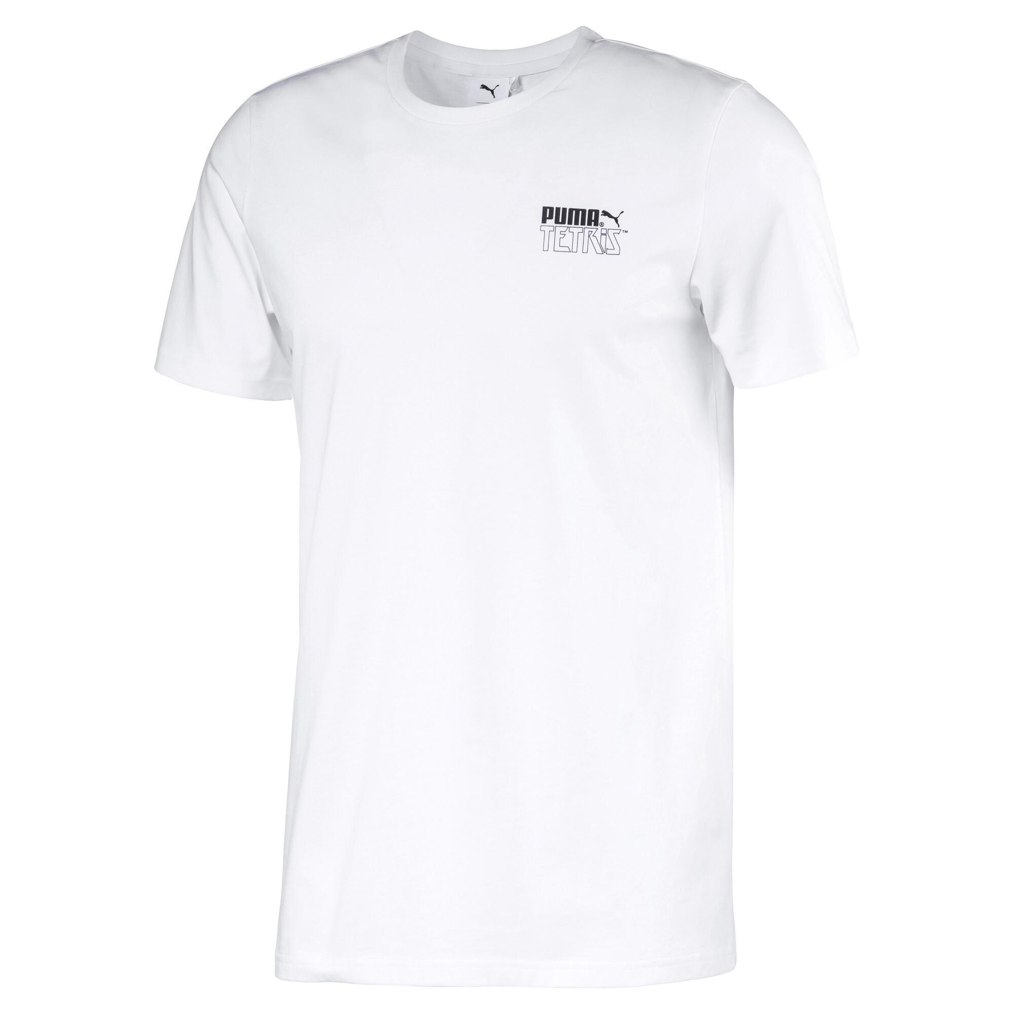プーマ PUMA x TETRIS ユニセックス Tシャツ ユニセックス Puma White
