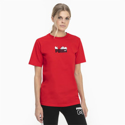 PUMA x HELLO KITTY Kadın T-Shirt