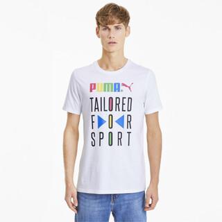 Görüntü Puma TAILORED FOR SPORT Desenli Erkek T-Shirt