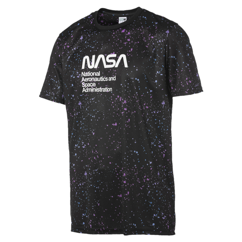 Image PUMA PUMA x NASA Space Agency AOP Men's Tee #1