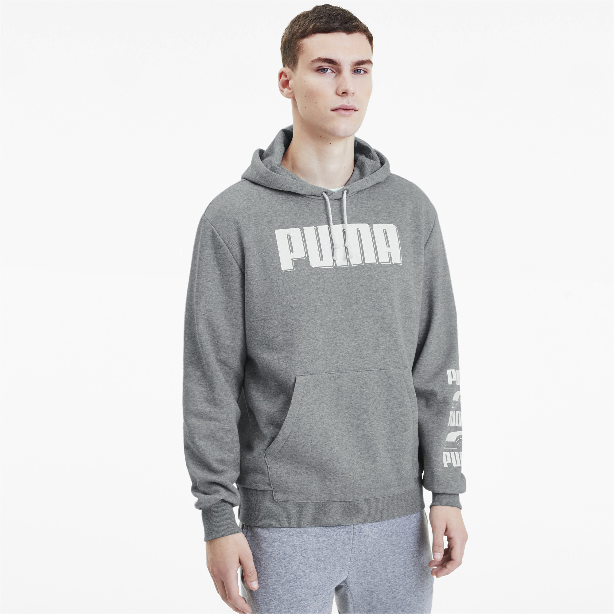 PUMA-Rebel-Bold-Men-039-s-Hoodie-Men-Sweat-Basics thumbnail 14