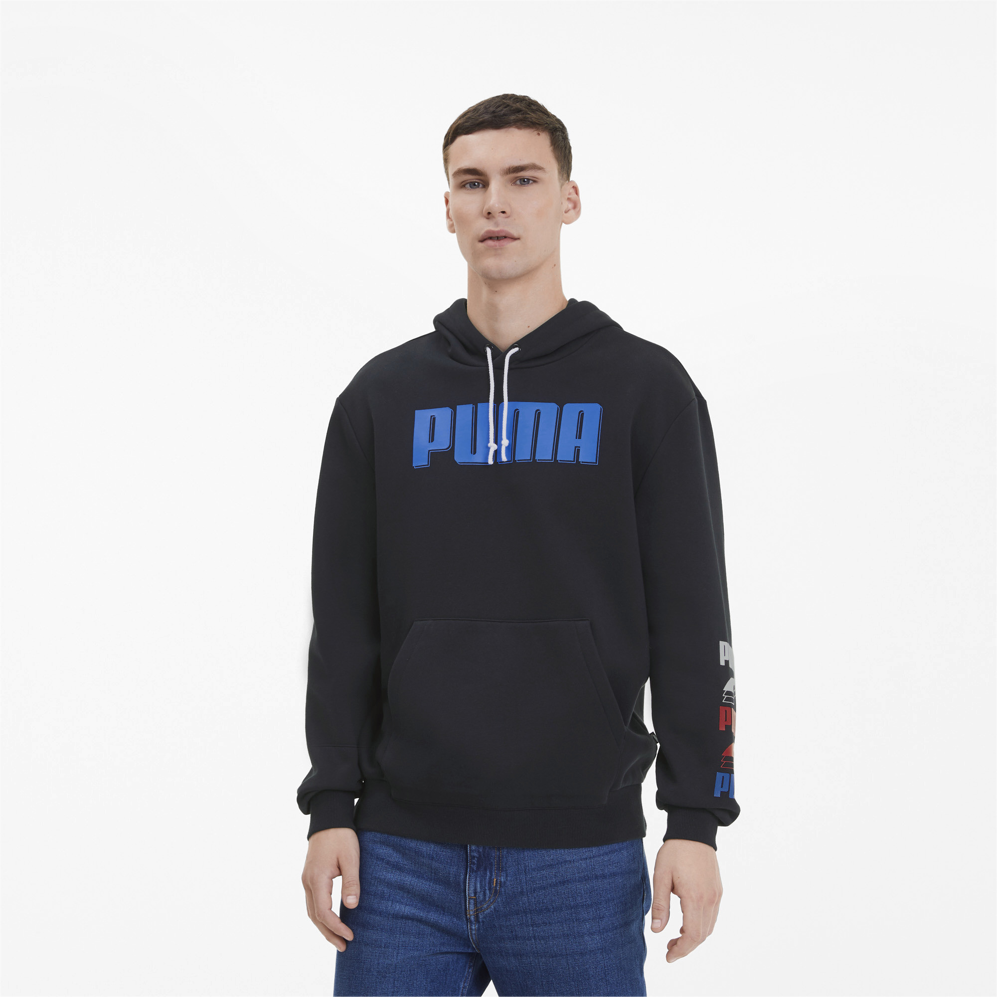 PUMA-Rebel-Bold-Men-039-s-Hoodie-Men-Sweat-Basics thumbnail 4
