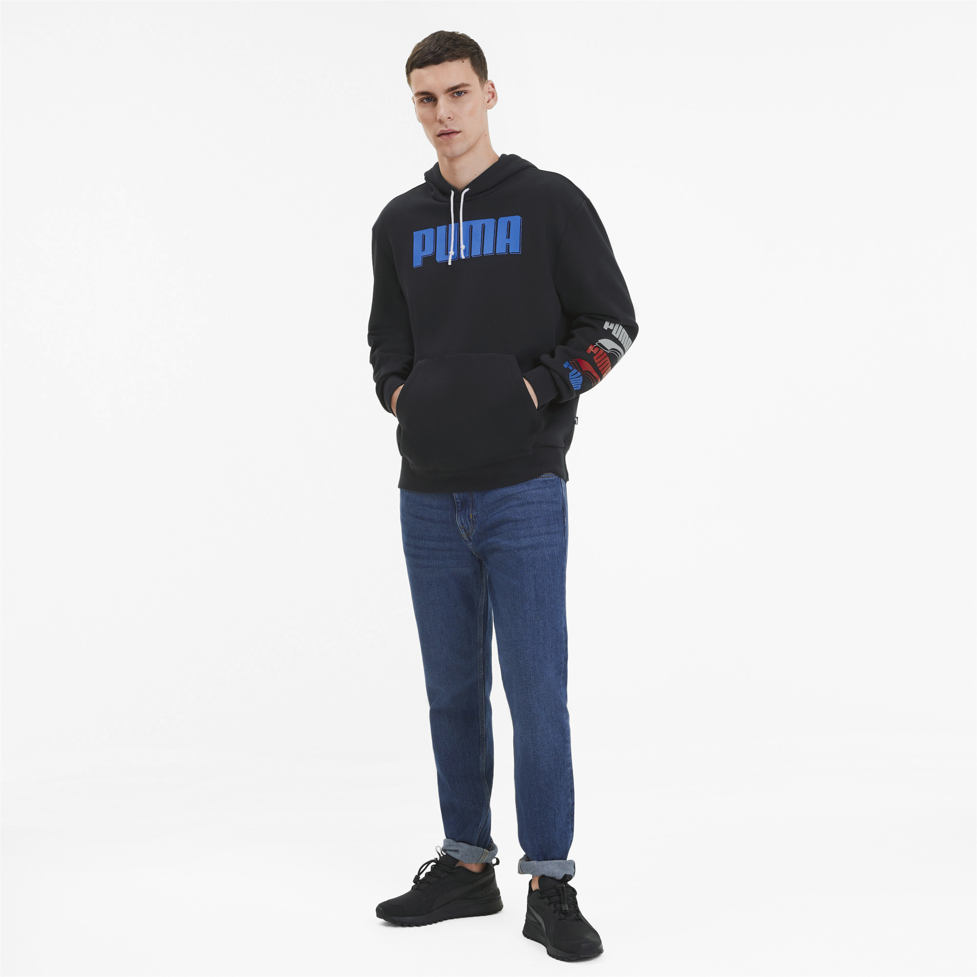PUMA-Rebel-Bold-Men-039-s-Hoodie-Men-Sweat-Basics thumbnail 6