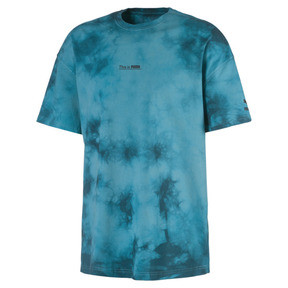 Thumbnail 1 of Boxy Men's Tee, Blue Coral, medium