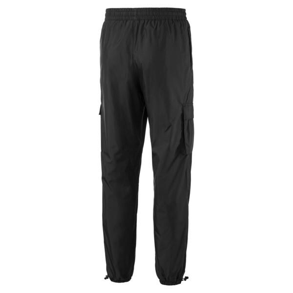 Lichtgewicht geweven broek voor mannen, Puma Black, large