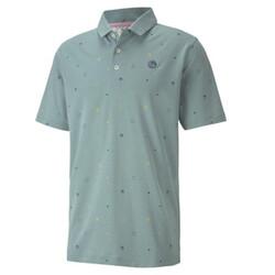 Legacy Print Men's Golf Polo Shirt