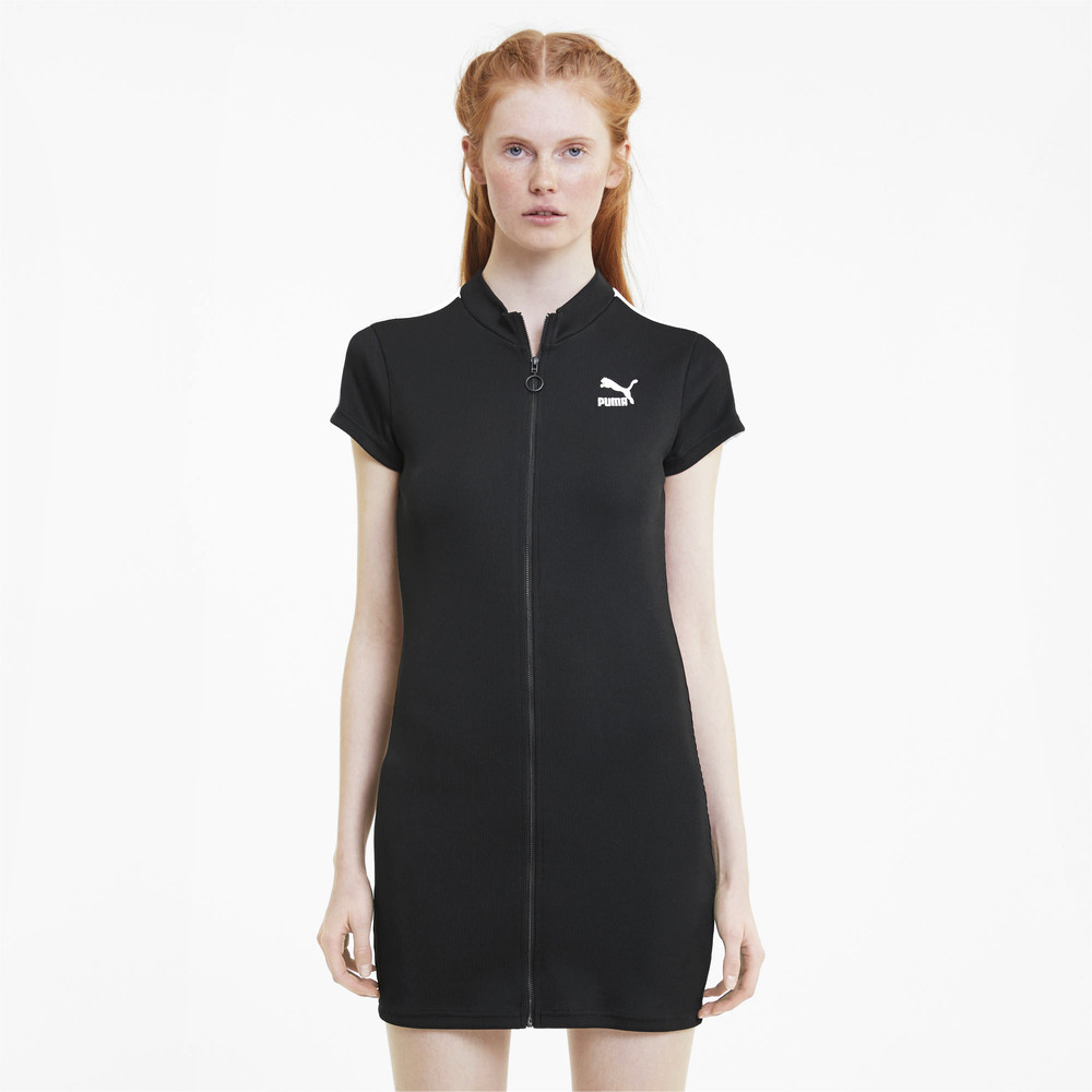 Image PUMA Classics Tight Ribbed Women's Dress #1