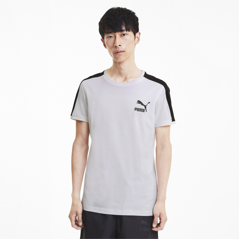 Image Puma Iconic T7 Slim Men's Tee #1