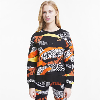 Image Puma Classics Graphic Long Sleeve Women's Sweater