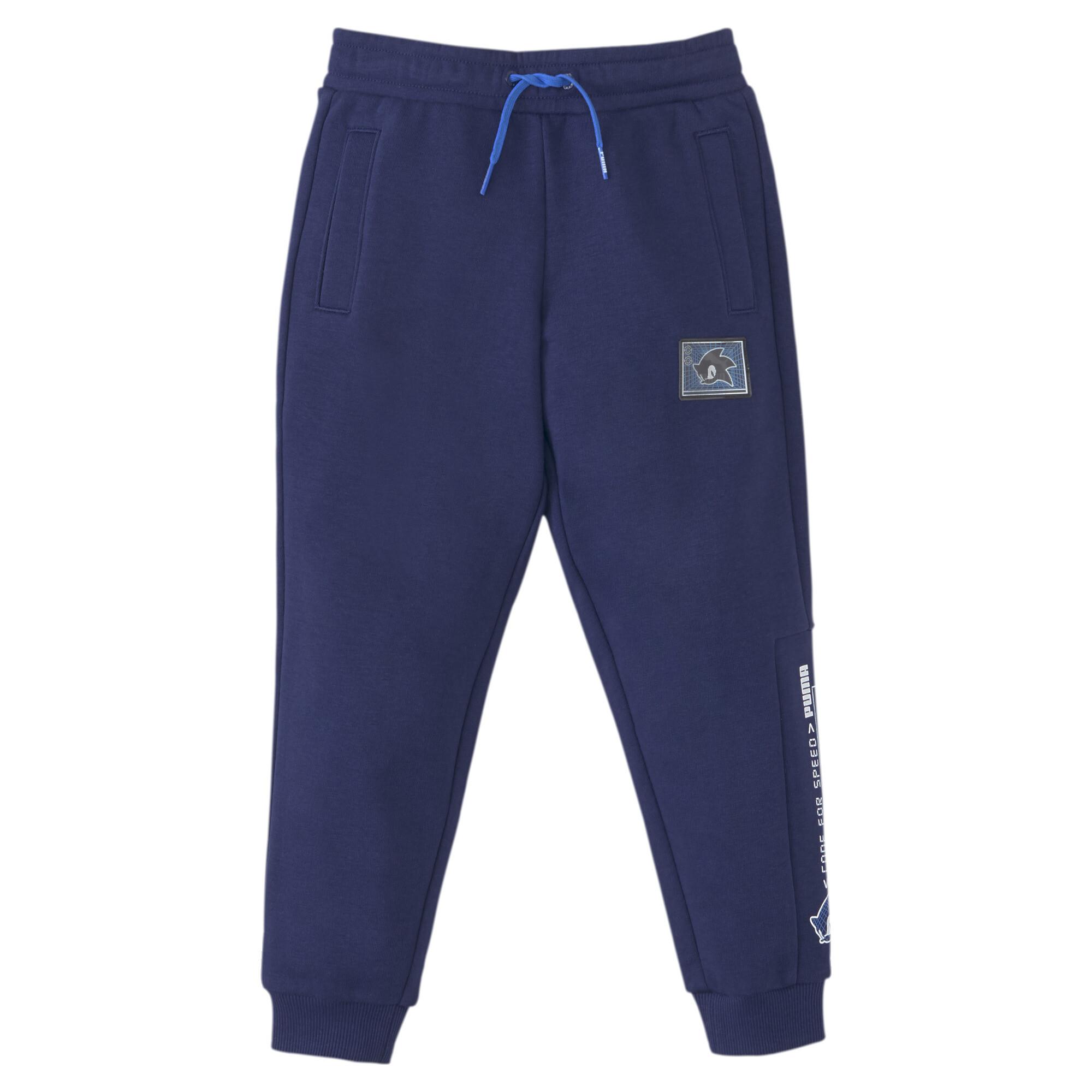 【プーマ公式通販】 プーマ キッズ PUMA x SEGA スウェット パンツ 104-152cm メンズ Medieval Blue |PUMA.com