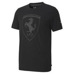 SCUDERIA FERRARI Style Big Shield Erkek T-shirt