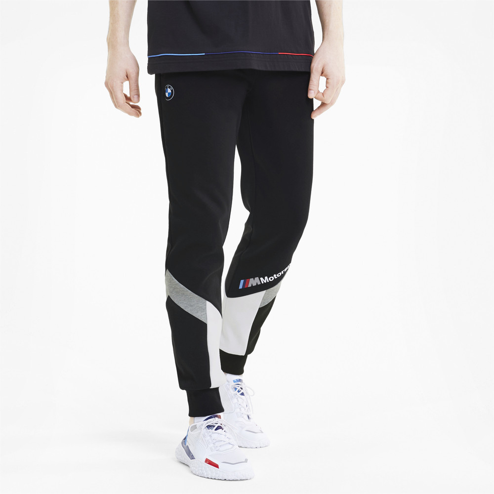 Image Puma BMW M Motorsport MCS Slim Men's Sweatpants #1
