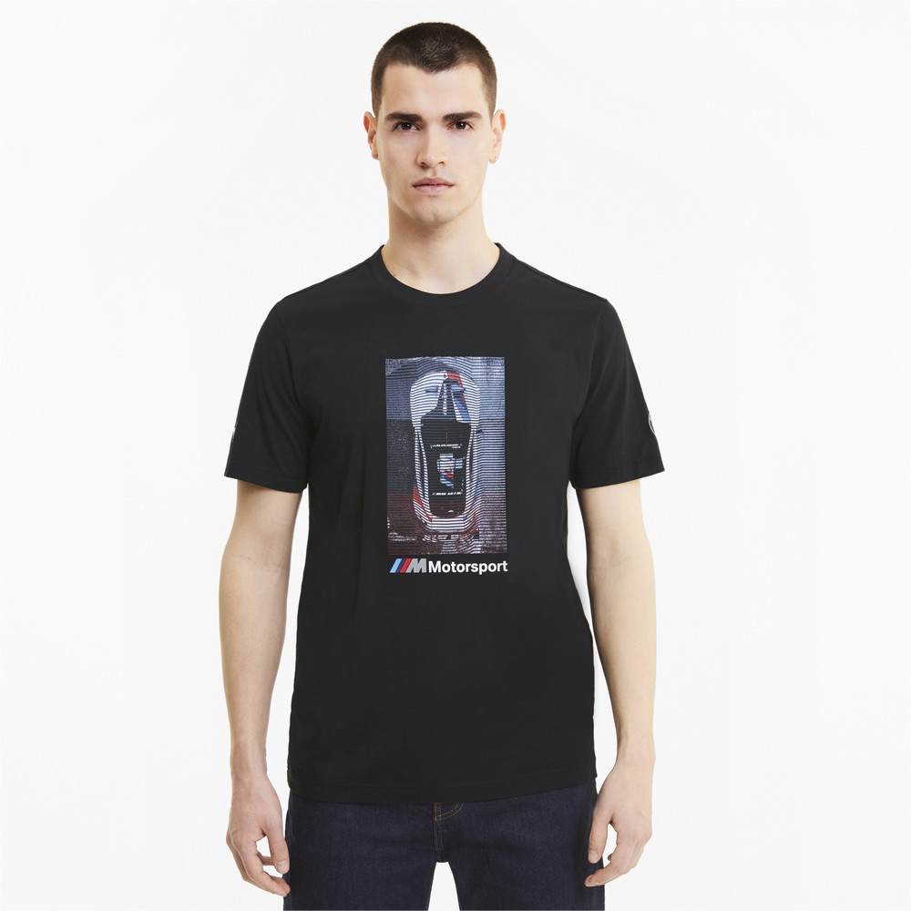 Image Puma BMW M Motorsport Graphic Men's Tee #1