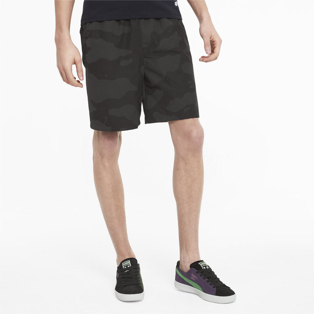 Image PUMA PUMA x THE HUNDREDS Reflective Men's Shorts #1
