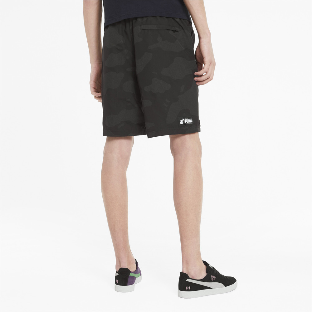 Image PUMA PUMA x THE HUNDREDS Reflective Men's Shorts #2