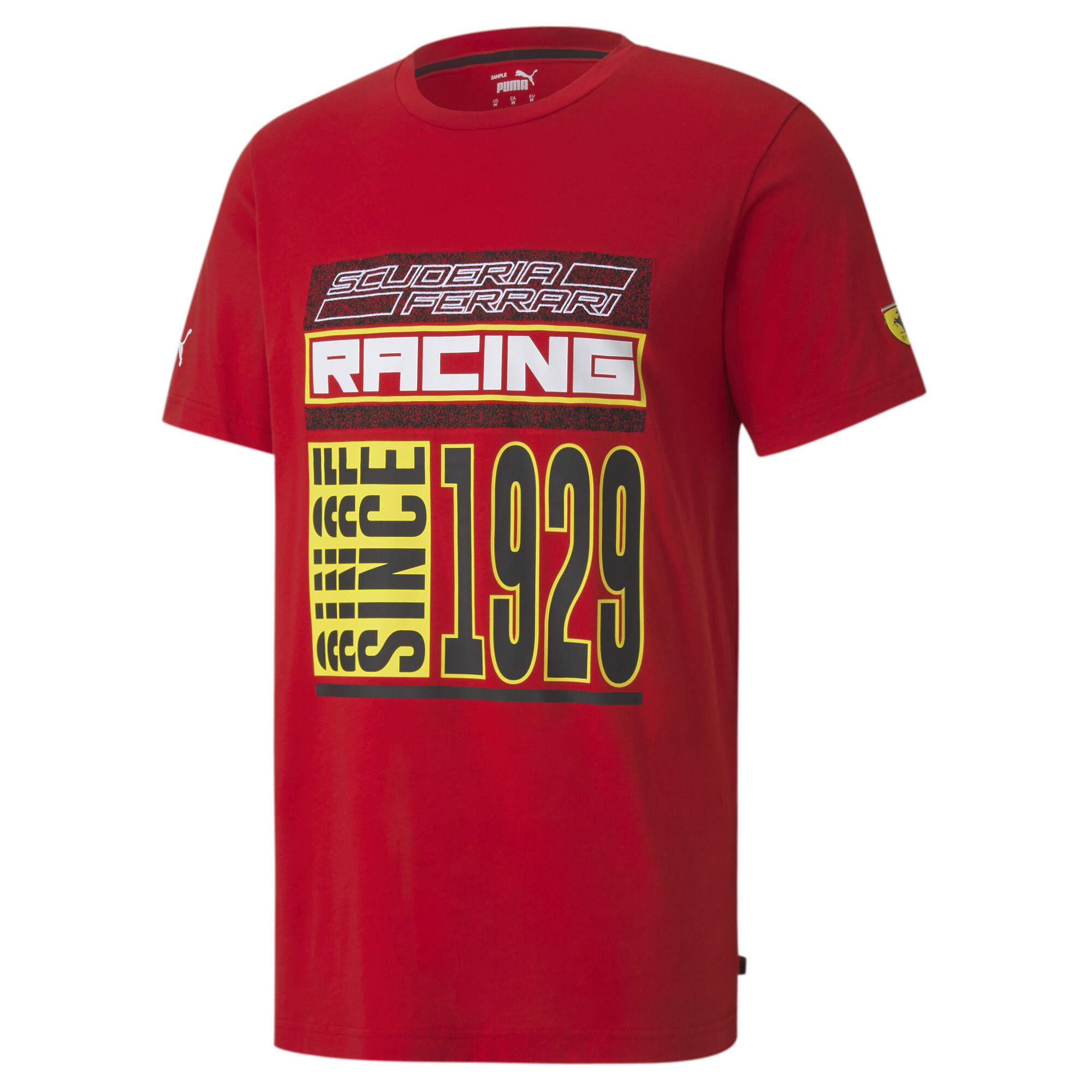 【プーマ公式通販】 プーマ フェラーリ レース Q4 半袖 Tシャツ メンズ Rosso Corsa |PUMA.com