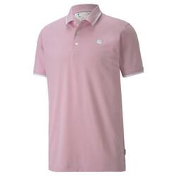 PUMA x ARNOLD PALMER Signature Tipped Men's Golf Polo