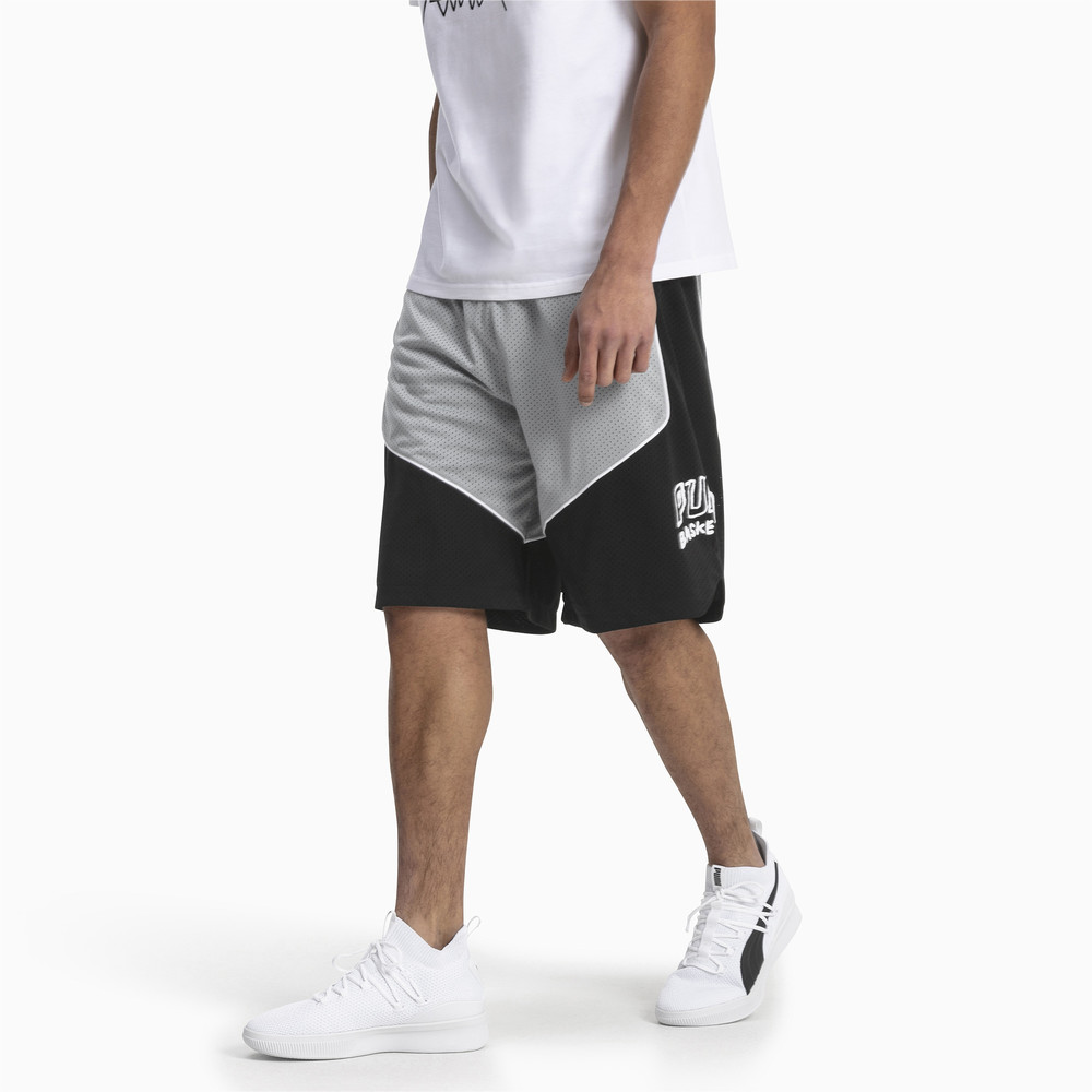 Image PUMA Hoops Game Men's Basketball Shorts #1