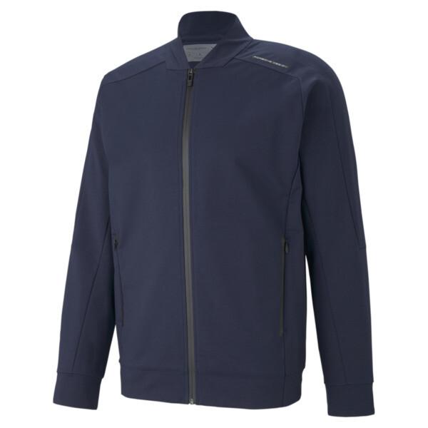 puma porsche design men's t7 track jacket in dark blue, size l