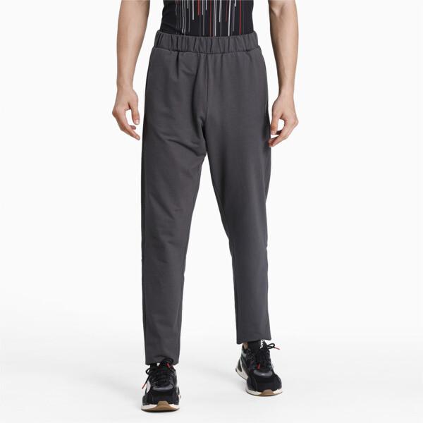 puma porsche design men's t7 track pants in asphalt grey, size s