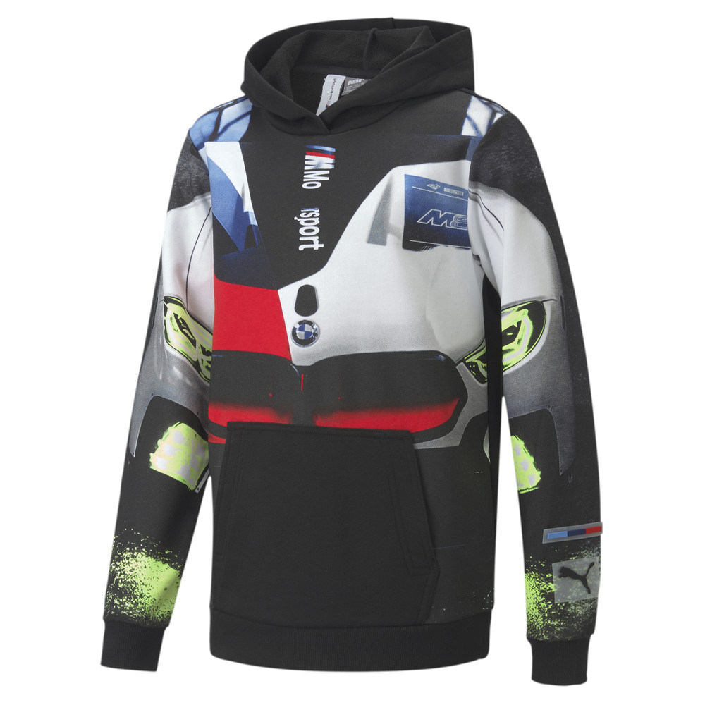 Image Puma BMW M Motorsport Youth Street Hoodie #1
