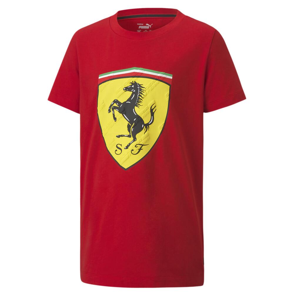 Görüntü Puma SCUDERIA FERRARI Race BIG SHIELD Çocuk T-shirt #1