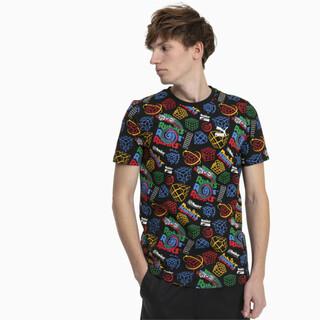 Görüntü Puma PUMA x RUBIK'S CUBE Desenli Erkek T-Shirt
