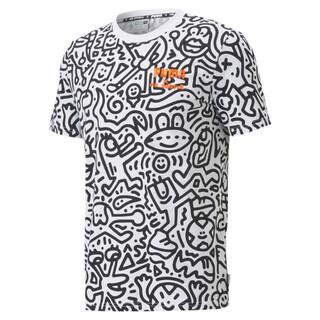 Image PUMA PUMA x MR DOODLE Camiseta AOP Masculina
