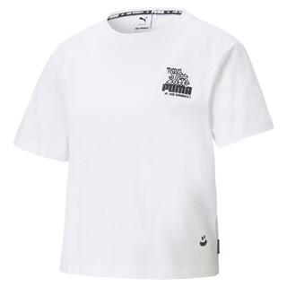 Görüntü Puma PUMA x MR DOODLE Kısa Kesim Kadın T-shirt