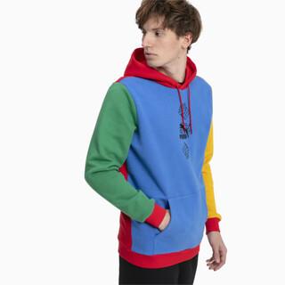 Görüntü Puma PUMA x RUBIK'S CUBE Kapüşonlu Renkli Erkek Sweatshirt