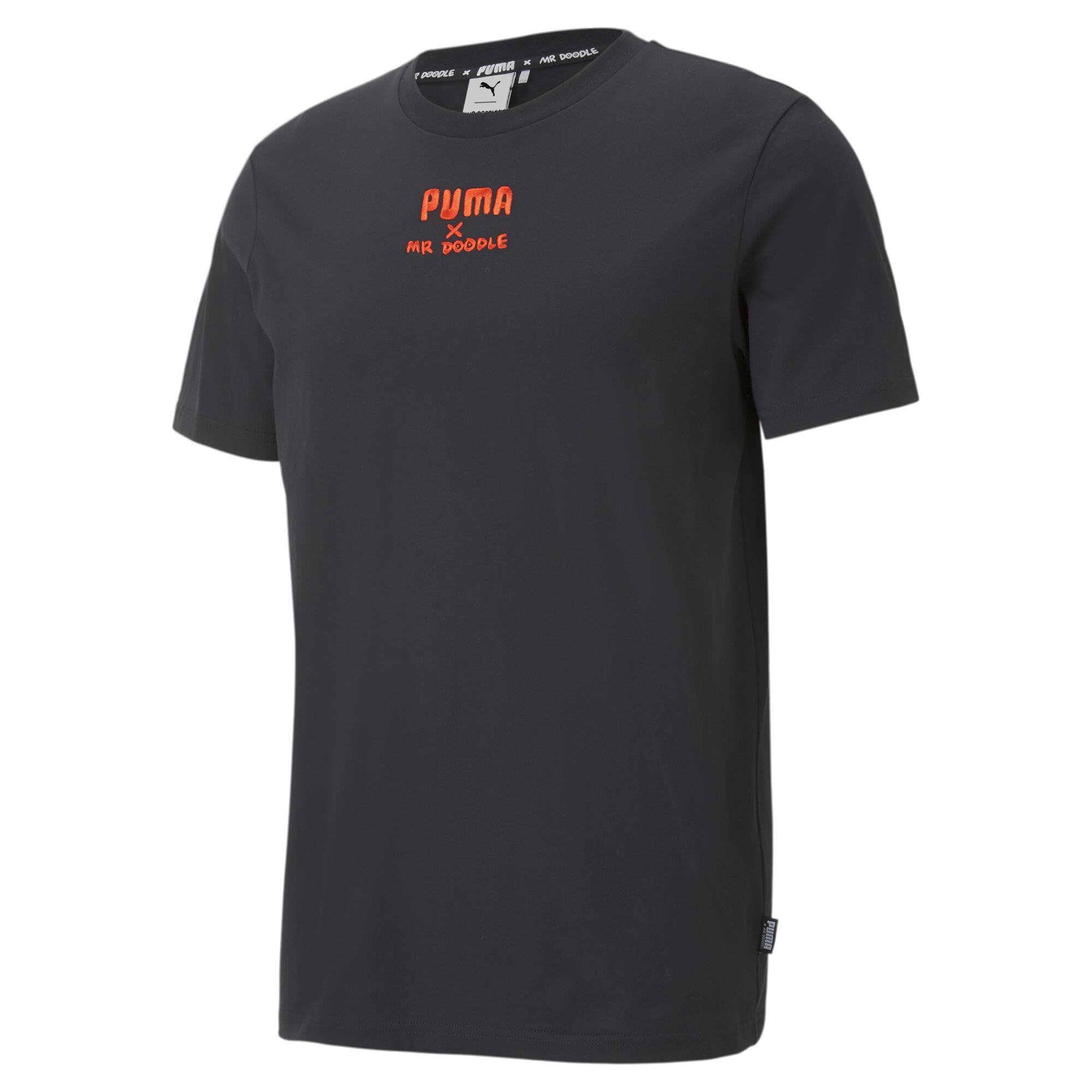 【プーマ公式通販】 プーマ PUMA x MR DOODLE 半袖 Tシャツ メンズ Puma Black  PUMA.com