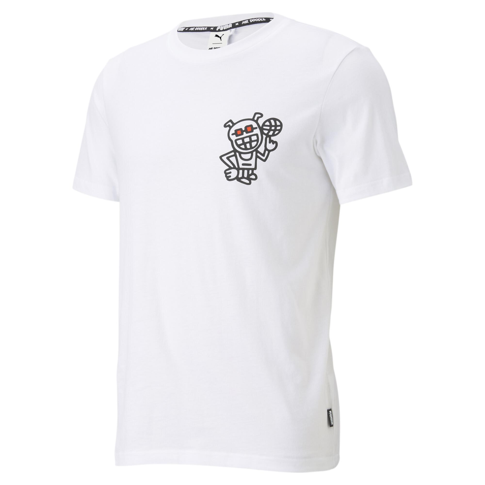 【プーマ公式通販】 プーマ PUMA x MR DOODLE 半袖 Tシャツ メンズ Puma White  PUMA.com