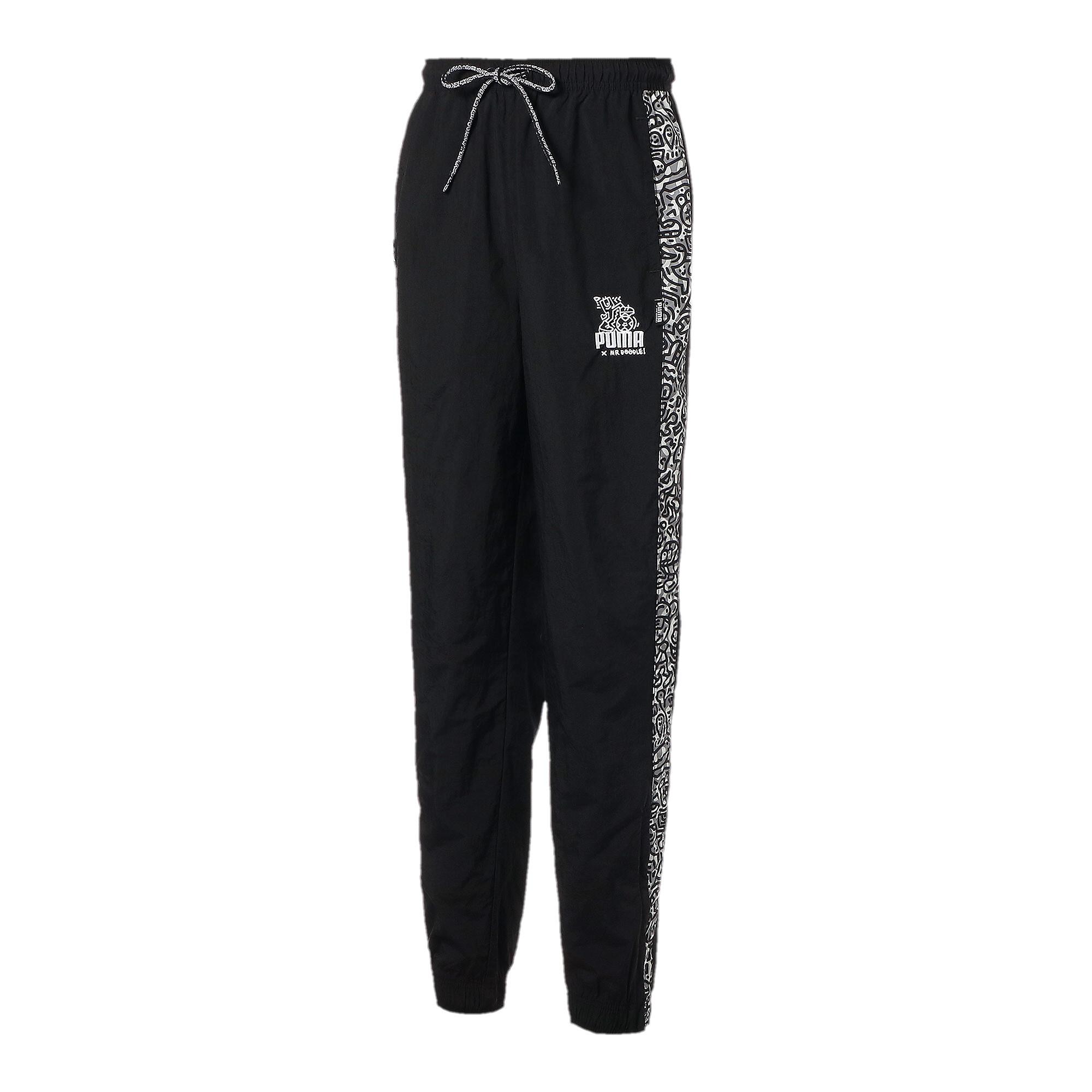 【プーマ公式通販】 プーマ PUMA x MR DOODLE パンツ メンズ Puma Black  PUMA.com