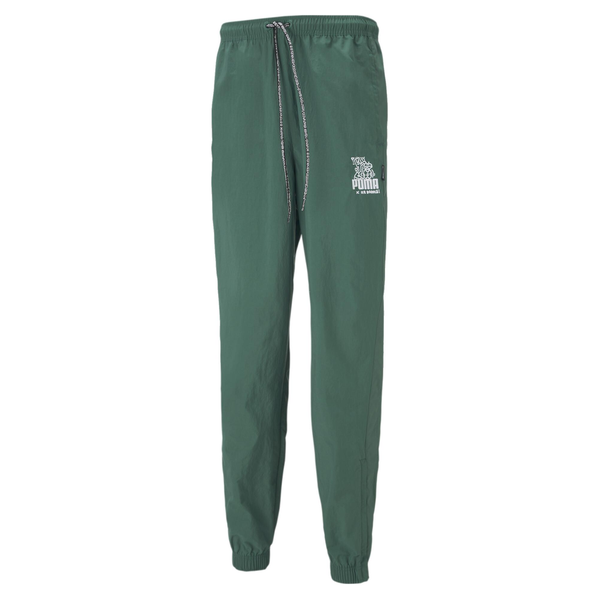【プーマ公式通販】 プーマ PUMA x MR DOODLE パンツ メンズ Covert Green  PUMA.com