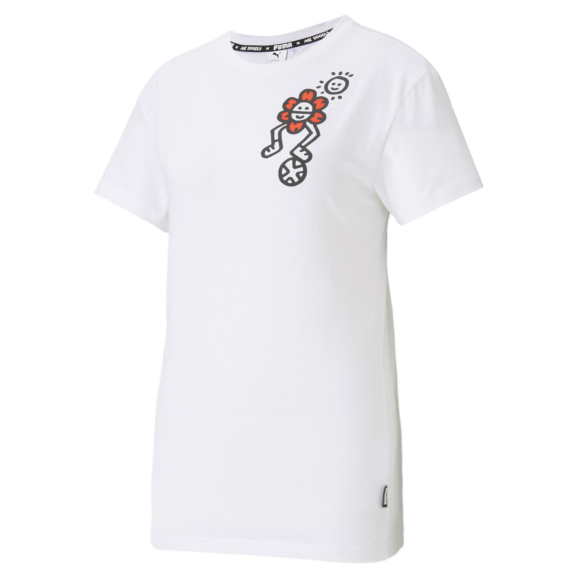 【プーマ公式通販】 プーマ PUMA x MR DOODLE ウィメンズ 半袖 Tシャツ ウィメンズ Puma White  PUMA.com