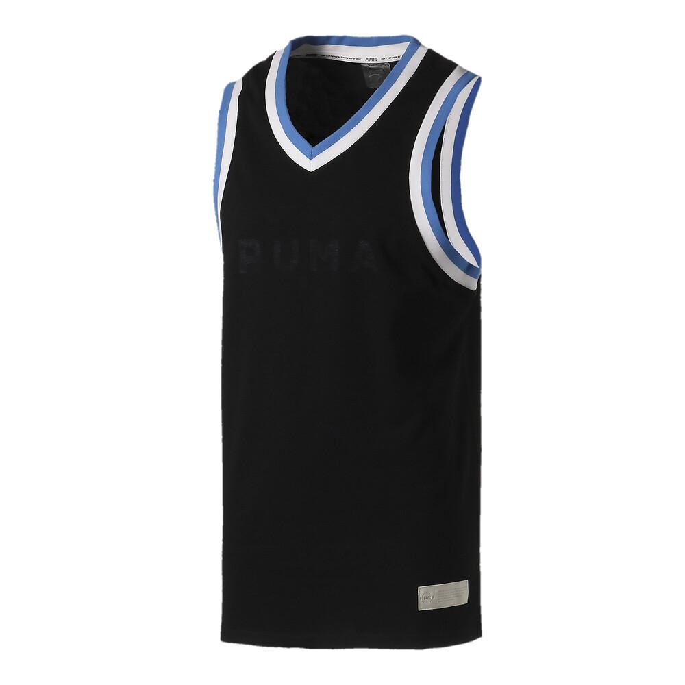 Görüntü Puma Fadeaway Erkek Basketbol Forması #1