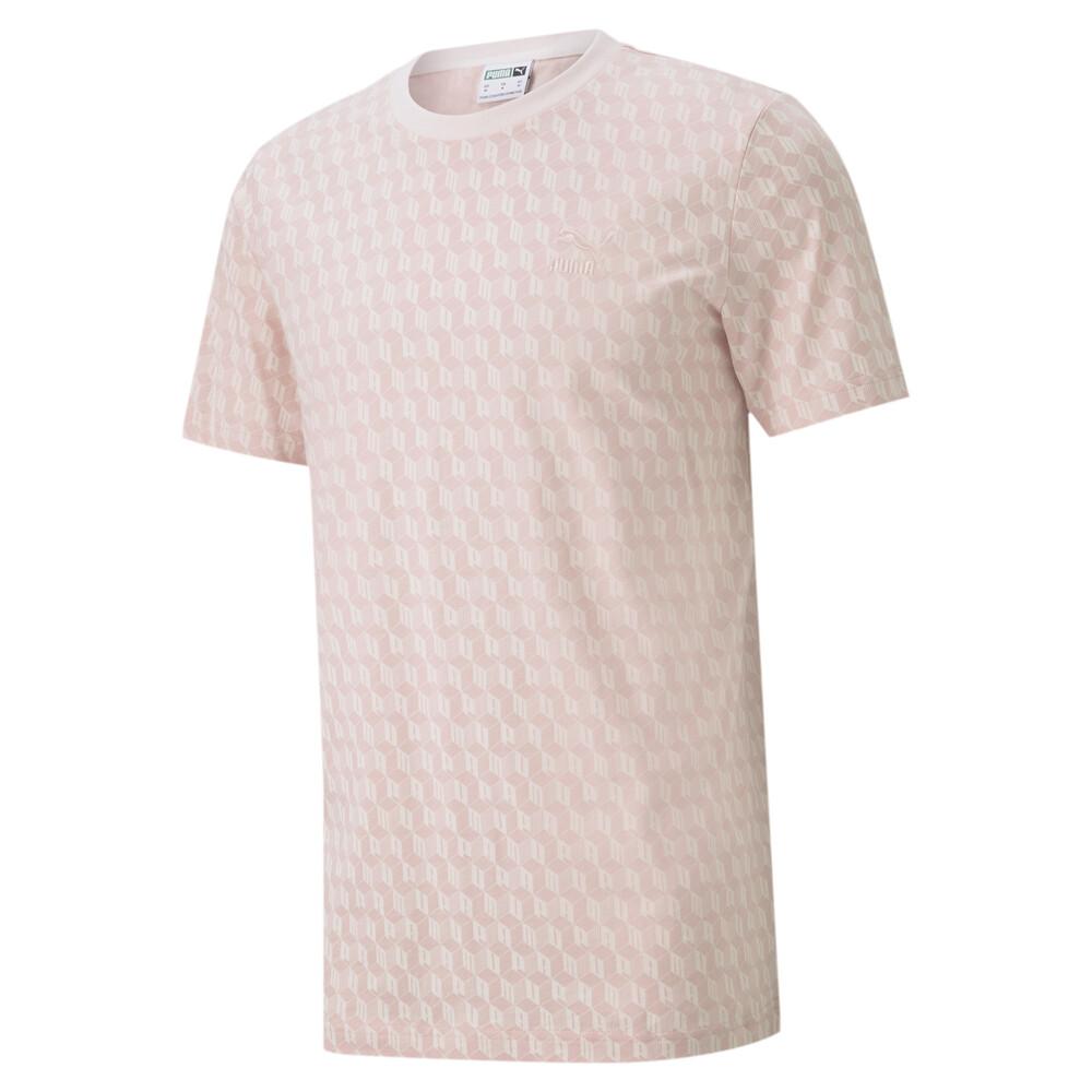 Görüntü Puma Summer Luxe Desenli Erkek T-Shirt #1