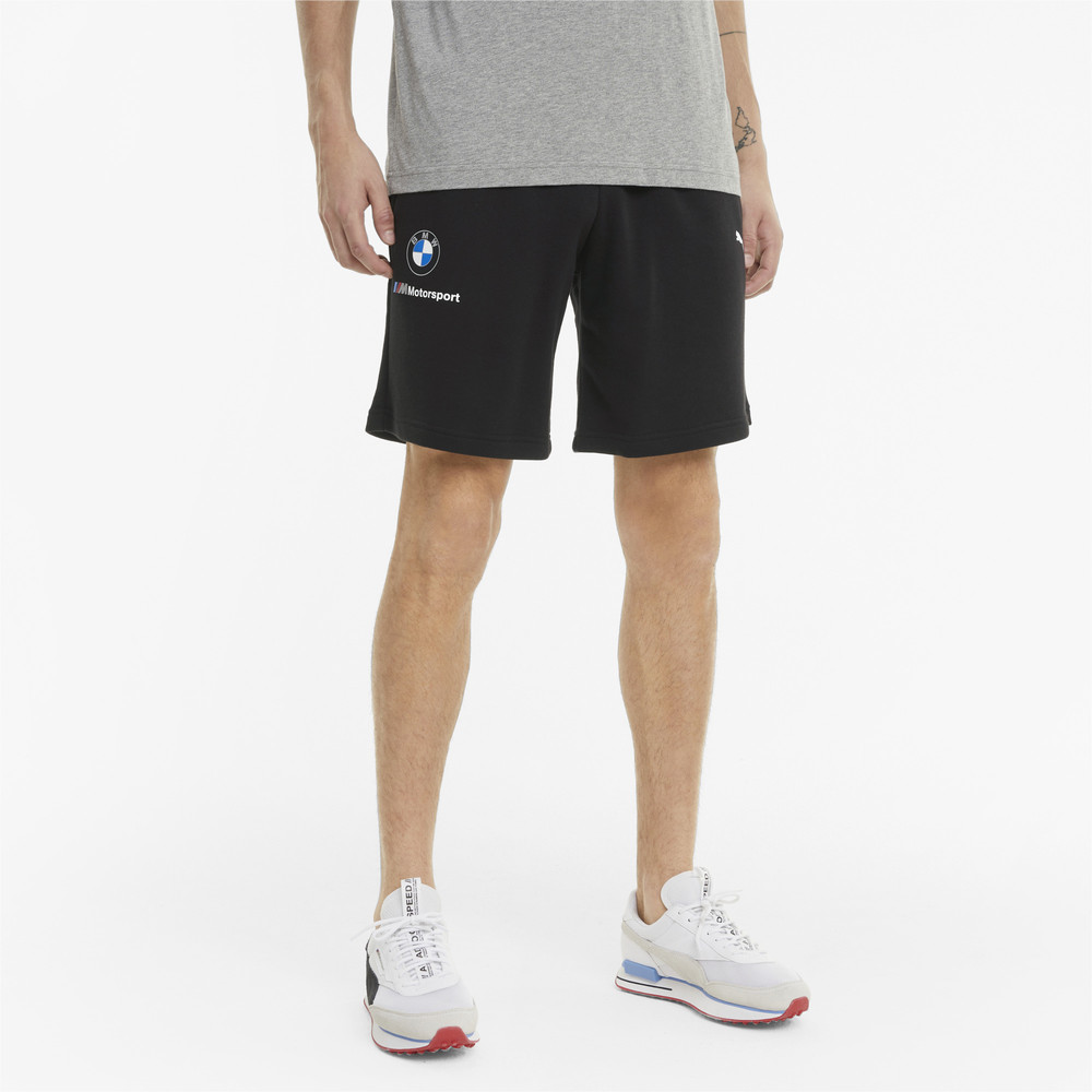 Image PUMA BMW M Motorsport Essentials Men's Sweat Shorts #1