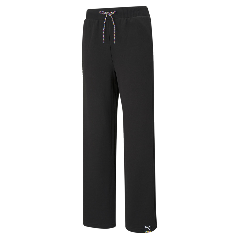 Image PUMA PUMA International Wide Leg Women's Pants #1