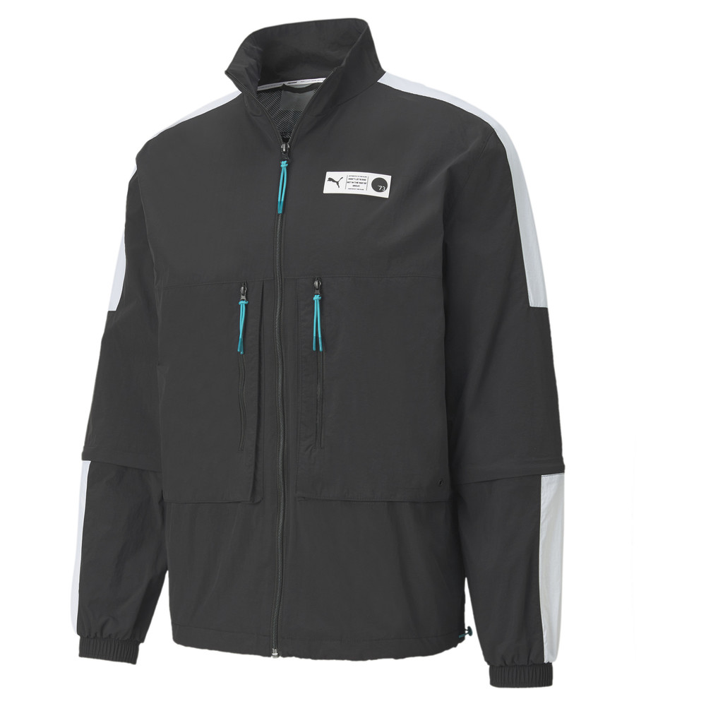 Зображення Puma Олімпійка Parquet Warm Up Men's Basketball Jacket #1