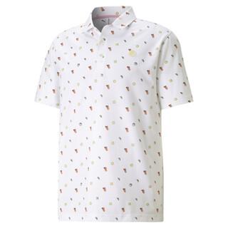 Image PUMA PUMA x ARNOLD PALMER Lemons Men's Golf Polo Shirt