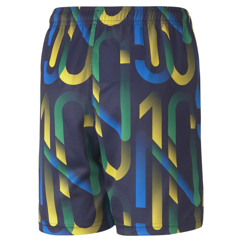 Image PUMA Neymar Jr Future Printed Youth Football Shorts #2