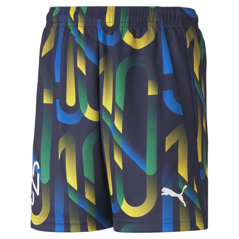 Image PUMA Neymar Jr Future Printed Youth Football Shorts #1
