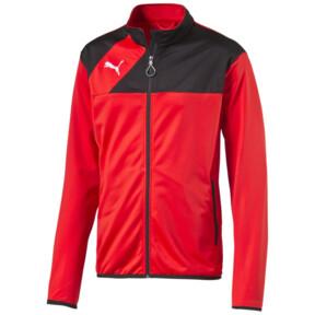 Thumbnail 1 of Football Esquadra Poly Training Jacket, puma red-black, medium