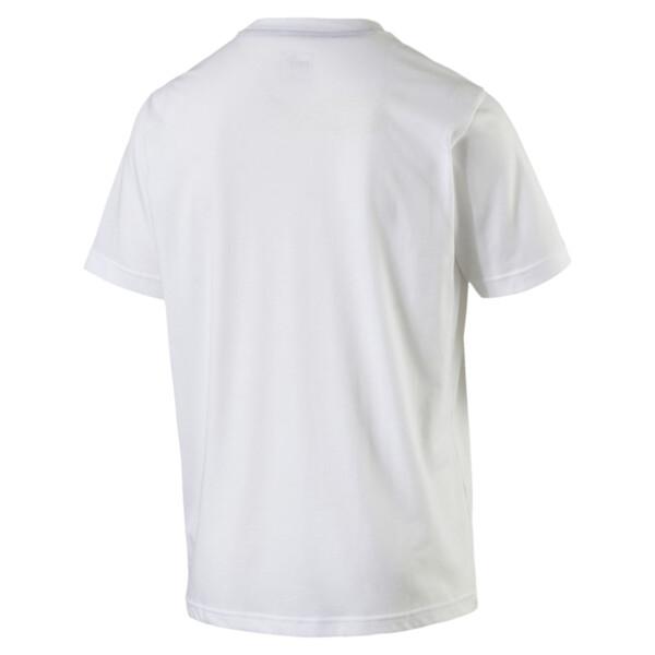 T-Shirt de football Esquadra Leisure, white-black, large