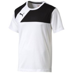 Thumbnail 1 of T-Shirt de football Esquadra Leisure, white-black, medium