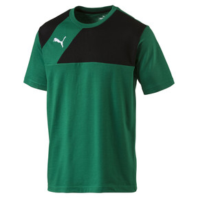Thumbnail 1 of T-Shirt de football Esquadra Leisure, power green-black, medium
