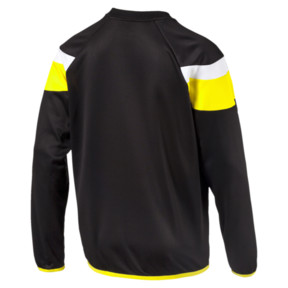 Thumbnail 2 of Football Spirit II Training Sweater, black-cyber yellow, medium