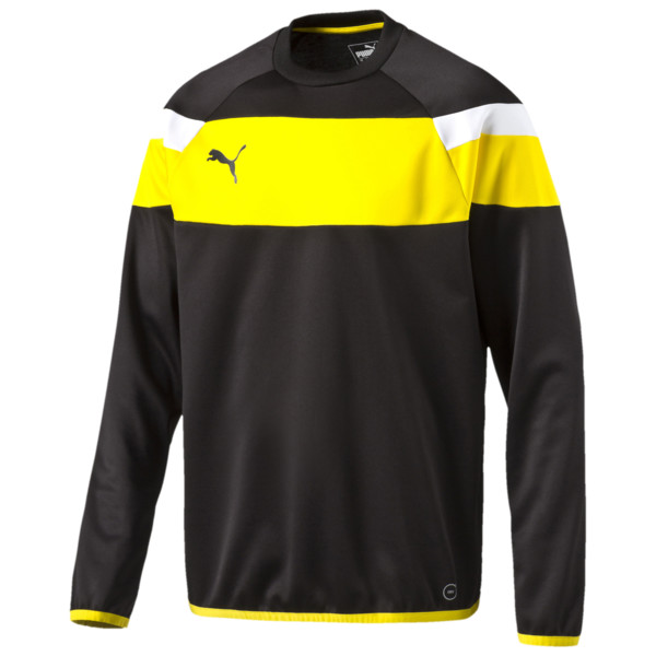 Football Spirit II Training Sweater, black-cyber yellow, large