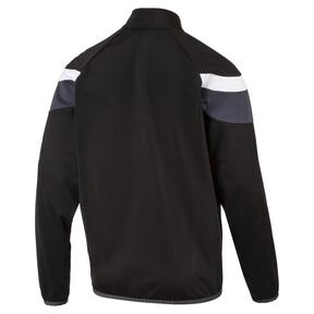 Thumbnail 2 of Football  Spirit II Poly Training Jacket, black-white, medium